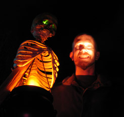 Me and a skeleton
